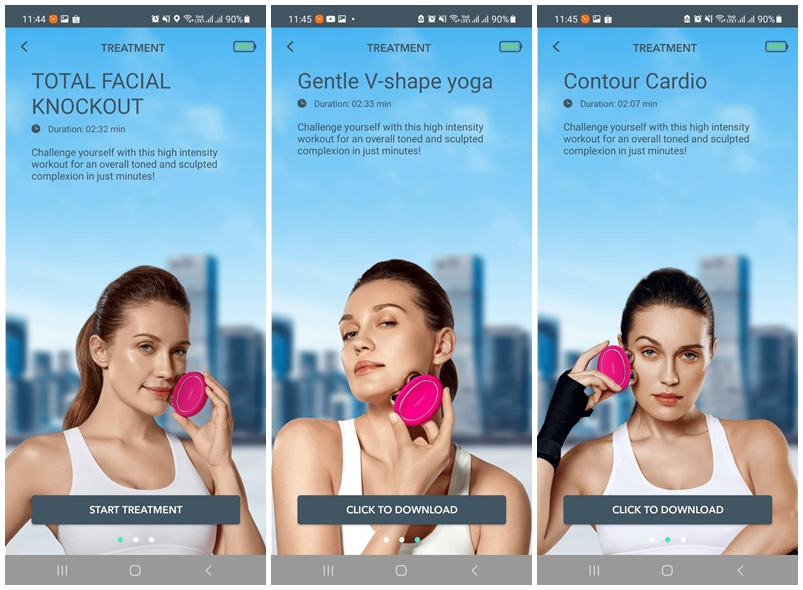 FOREO for YOU App Treatments