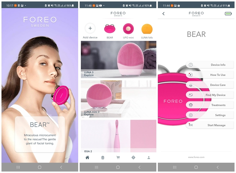FOREO for YOU App1